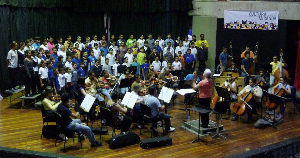 Con cinco oberturas la Sinfónica de Miranda abre temporada de conciertos