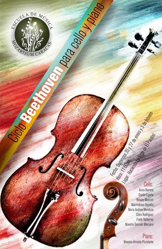 Ciclo Beethoven para Cello y Piano