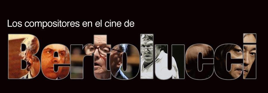 Los compositores en el cine de Bertolucci