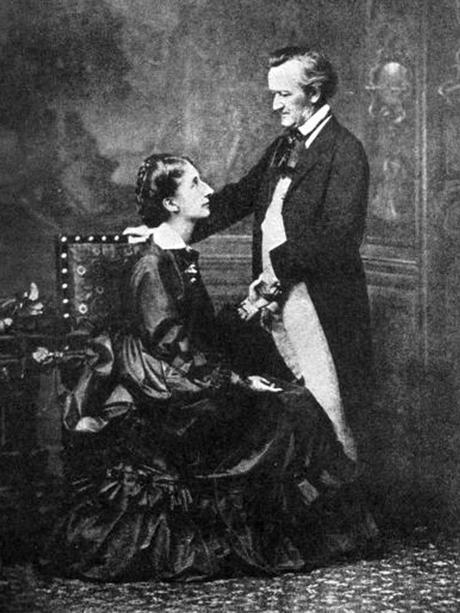Richard y Cosima Wagner.