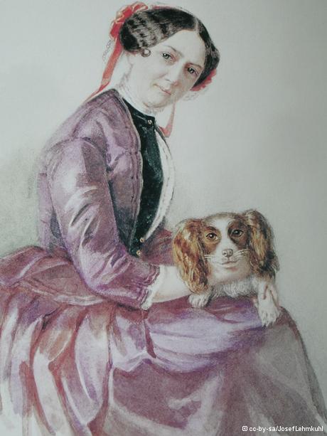 Retrato de Minna Wagner.