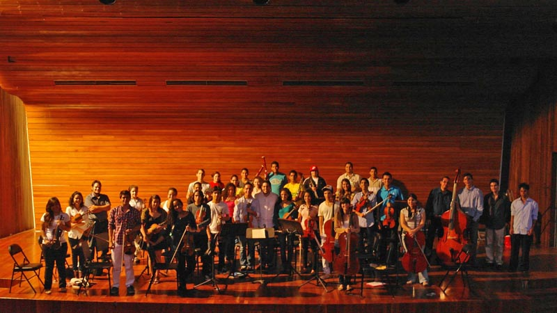 """Orquesta Sinfónica Universitaria """"Carlos Raúl Villanueva"""