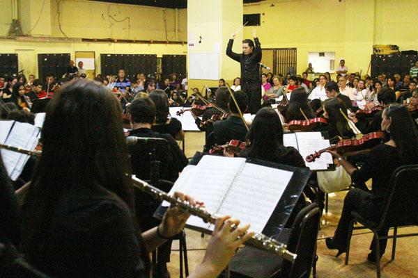 Voces y sinfonías desde Guayana para conmemorar a El Sistema