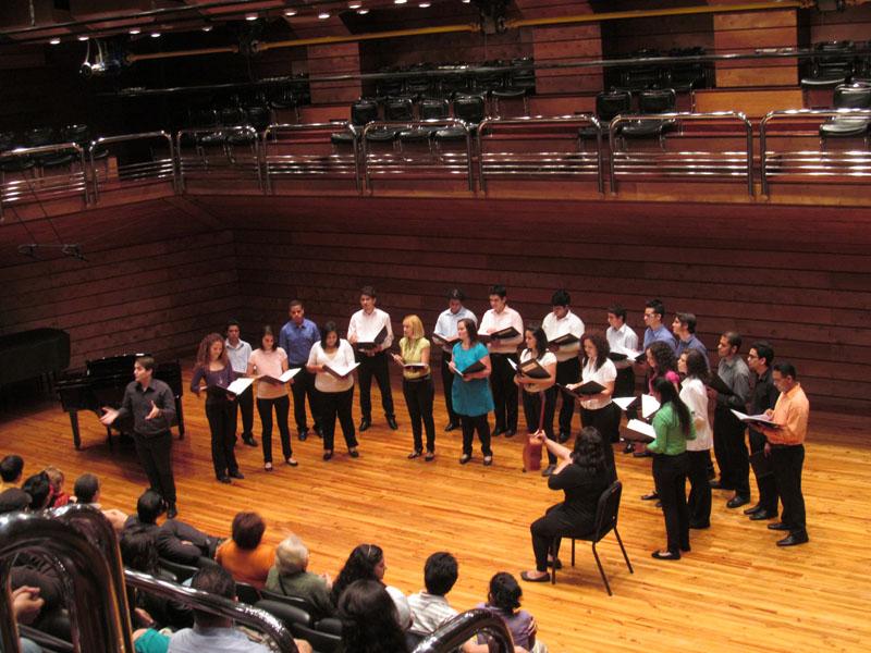 Coro del Conservatorio de Música Simón Bolívar