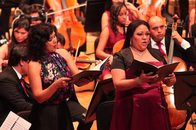 Mariana Ortíz, Soprano Katiuska Rodríguez, Mezzo soprano | FOTO Alexander Gómez/ AVN