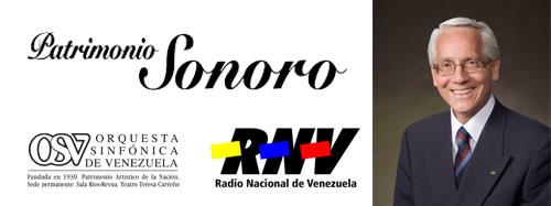 """Este Sábado """"Patrimonio Sonoro"""" por RNV 91.1FM"""
