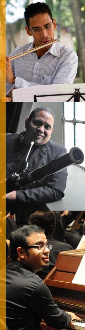 """""""Flauta, Fagot y Piano"""" en el Salón Siglo XXI"""