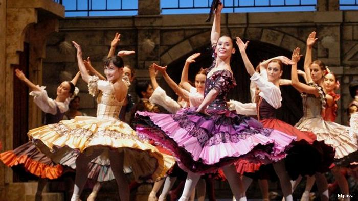 De bailarina a empresaria