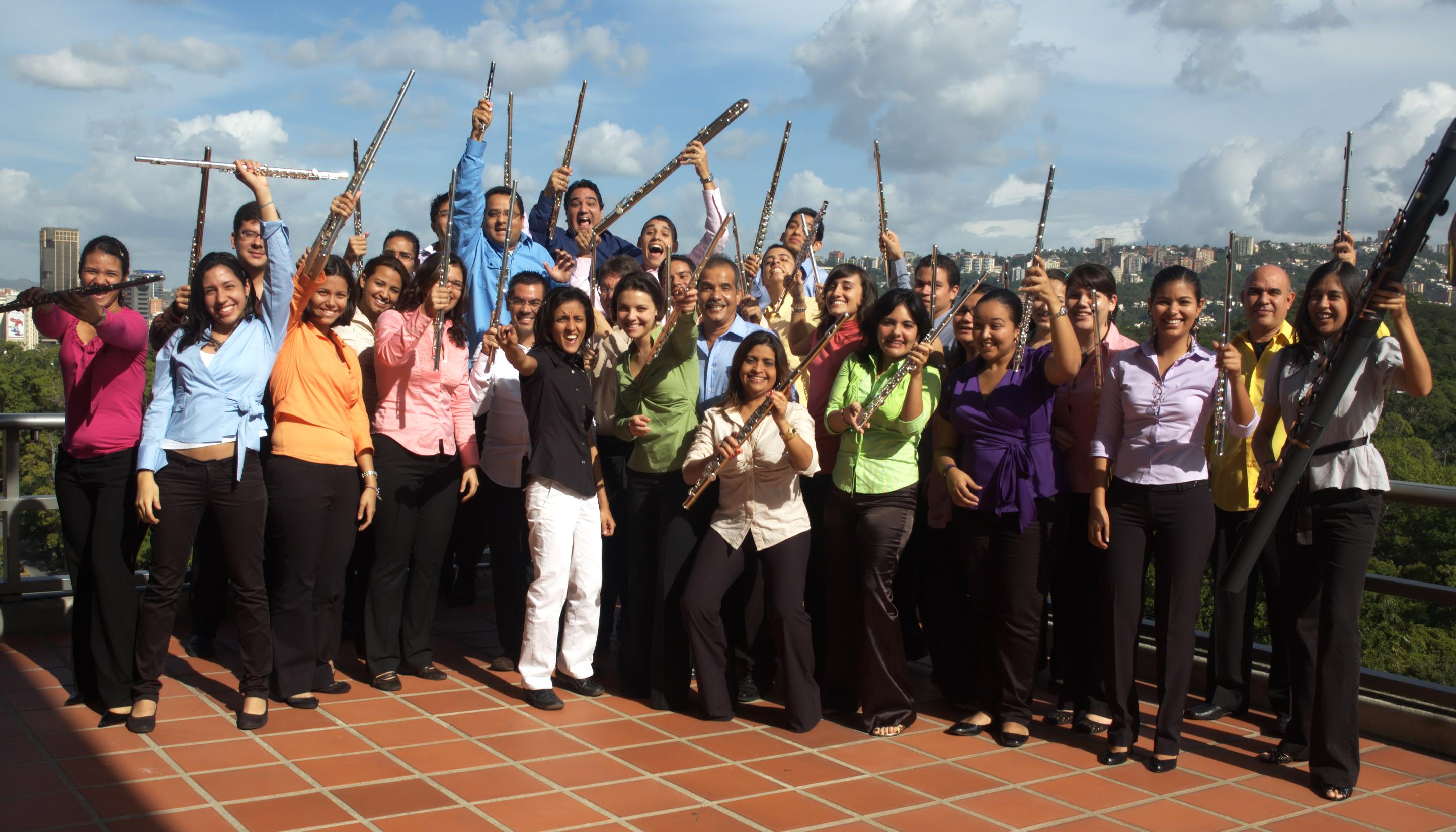 Gran concierto de la Orquesta Nacional de Flautas junto al Coro Infantil Venezuela y el Ensamble Vaäre