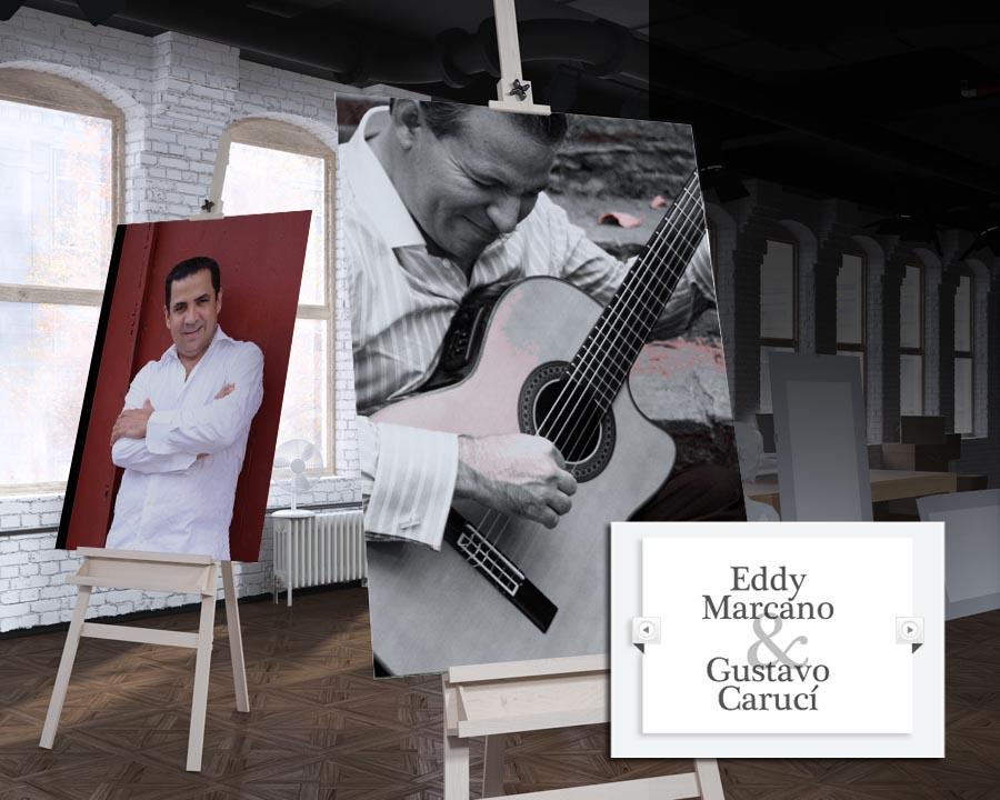 El Centro de Arte Los Galpones presenta el Dúo Eddy Marcano / Gustavo Carucí en concierto
