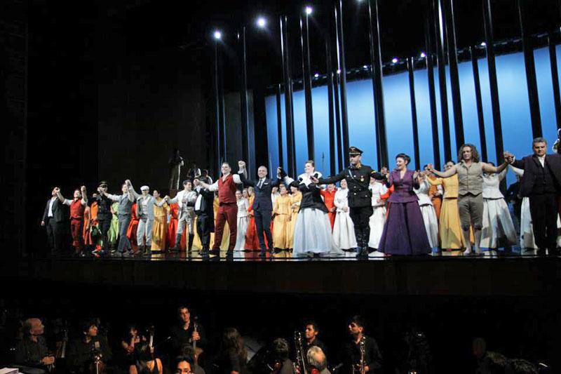 Foto Galería de la Ópera Guillermo Tell con el gran tenor peruano Juan Diego Flórez