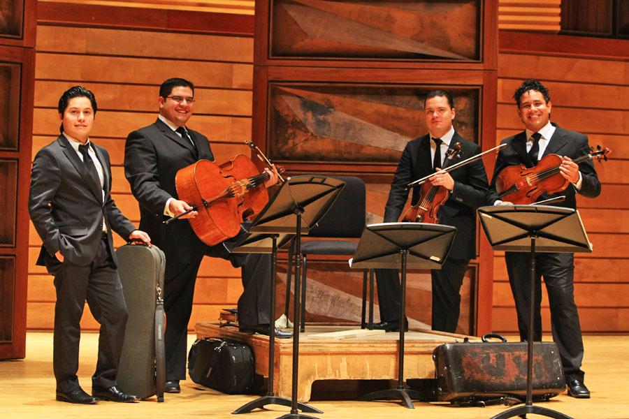 """El Cuarteto de Cuerdas """"Simón Bolívar"""" hará que los bogotanos se enamoren de Beethoven"""