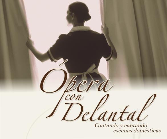 Ópera con delantal: Contando y cantando historias domésticas en la cocina de una casa