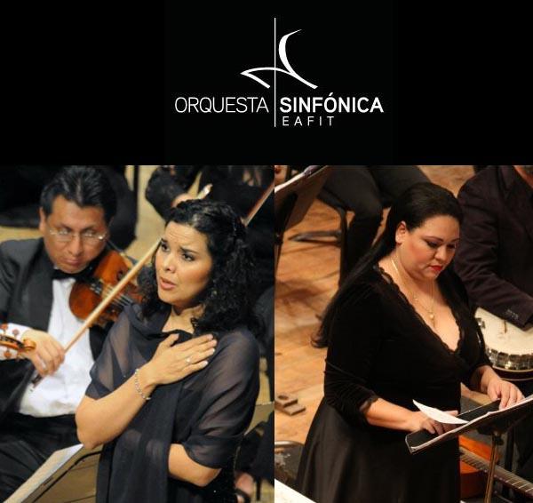 Artistas de talla internacional: Mariana Ortiz y Katiuska Rodríguez cantaron bajo la batuta de Andrés Orozco en Medellín