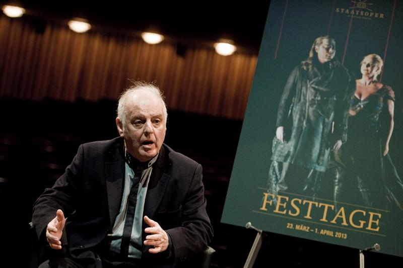 "Barenboim da a conocer programa del ""Festtage 2014"""