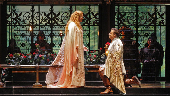 Eva-Maria Westbroek and Marcello Giordani star in the Met's production of Francesca da Rimini, Zandonai's melodic gem inspired by Dante's Inferno. Marco Armiliato conducts.