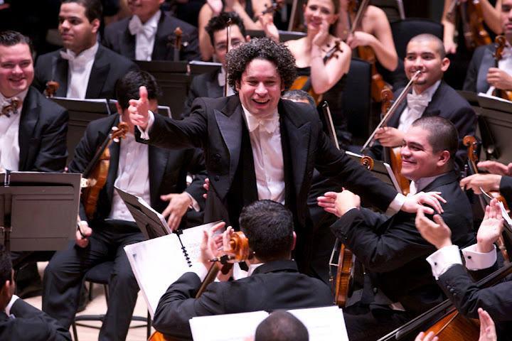 Gustavo Dudamel y la Orquesta Sinfónica Simón Bolívar de Venezuela