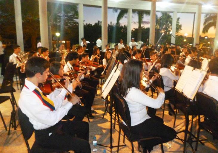 Celebrando su VI Aniversario, Orquesta Sinfónica Juvenil de Cantaura en gira por el Estado Miranda