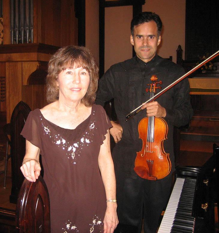 Michelle Tabor y Alfonso López Tabor