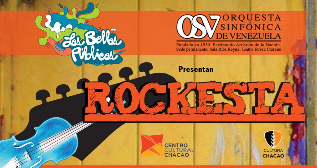 Orquesta Sinfónica de Venezuela celebra lo mejor del Rock con «Rockesta 2013»