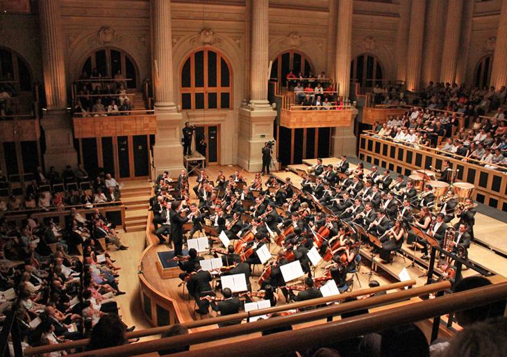 La Orquesta Sinfónica Simón Bolívar enamora a Sao Paulo