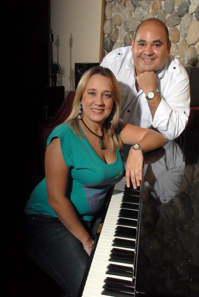 César Gómez y Zeneida Rodríguez