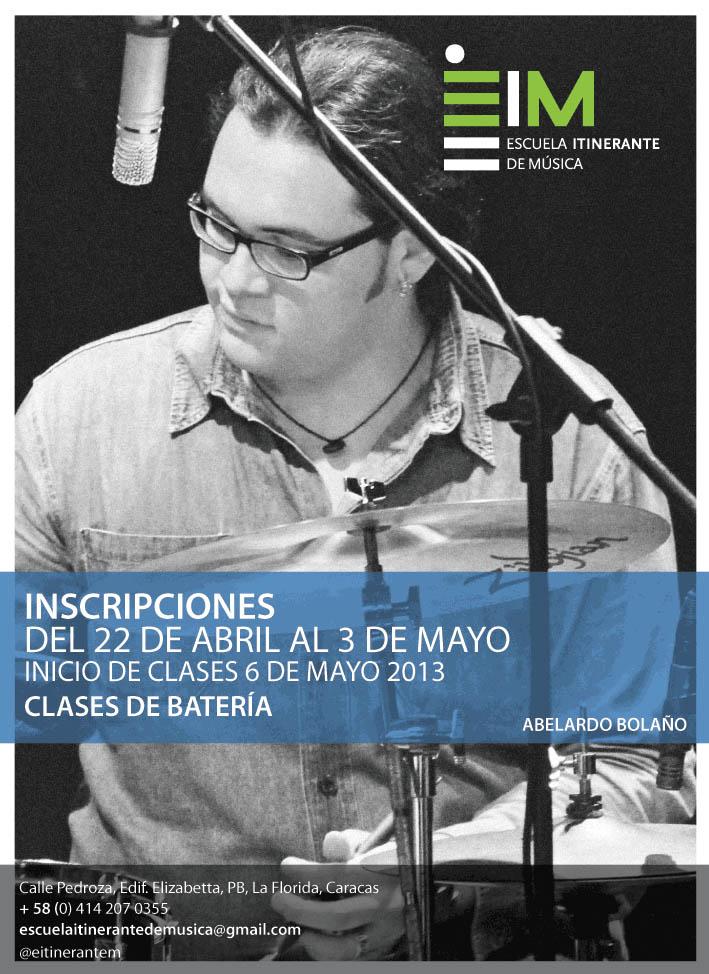 Escuela Itinerante de Música (EiM) abre Inscripciones en su segundo Trimestre