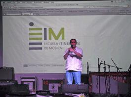 Pedro Barboza representate de la Escuela Itinerante de Música, presente en el IV Congreso Latinoamericano de Escuelas de Música , CLAEMPedro Barboza representate de la Escuela Itinerante de Música, presente en el IV Congreso Latinoamericano de Escuelas de Música , CLAEM