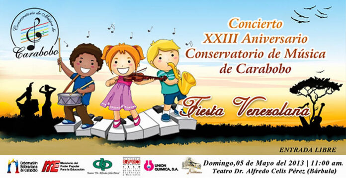 Conservatorio de música de Carabobo, Concierto XXIII Aniversario