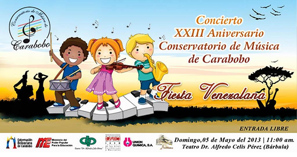 Aniversario XXIII – Fiesta Venezolana del Conservatorio de Música de Carabobo