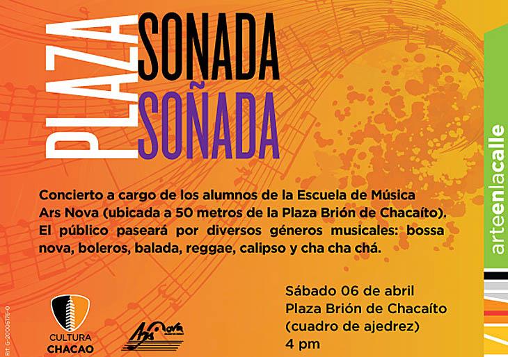 Cultura Chacao y Escuela de Música Ars Nova presentan concierto en la Plaza Brión de Chacaíto