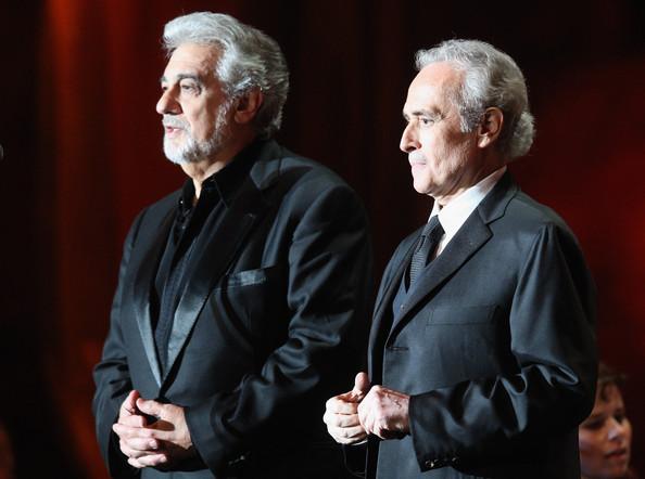 Plácido Domingo y José Carreras