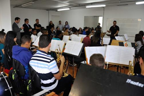 Una de las orquestas juveniles que integran el Programa Guri de Sao Paulo. Foto: FundaMusical Bolívar 2013