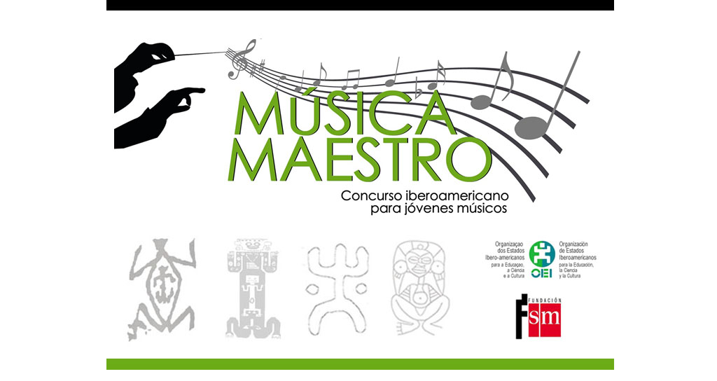 """Concurso Iberoamericano para Jóvenes Músicos """"Música Maestro"""""""