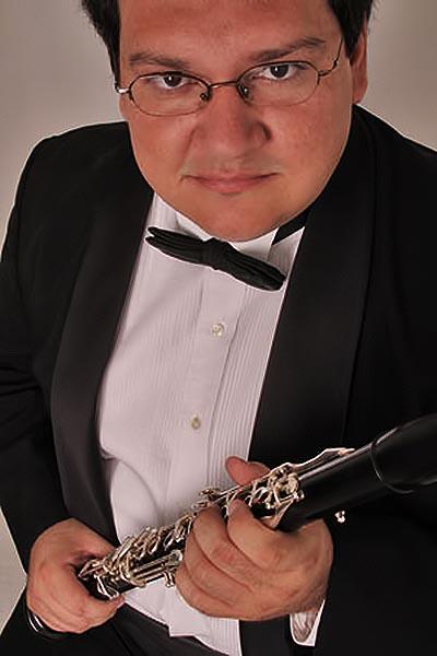 El clarinetista venezolano Jorge Montilla