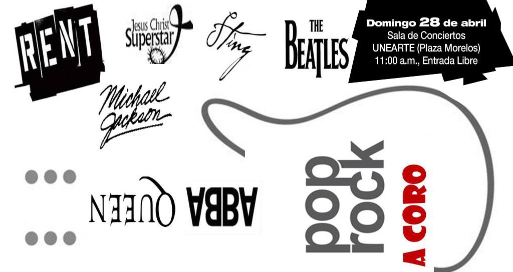 Pop Rock a Coro en la Unearte