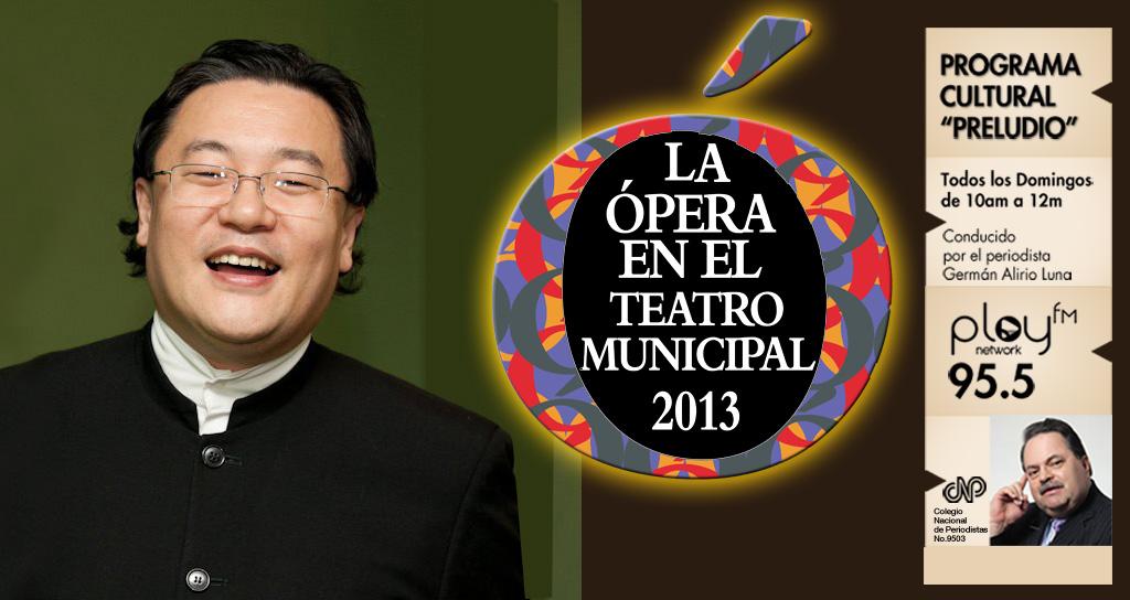 """""""Preludio"""" presenta la nueva Temporada de Ópera 2013, que regresa al Teatro Municipal"""