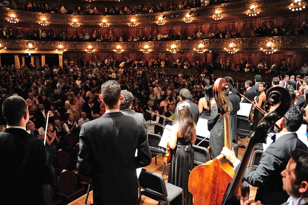 Gustavo Dudamel y la Orquesta Sinfónica Simón Bolívar de Venezuela en el Teatro Colón | Gira Latinoamericana 2013