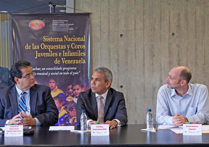 Anuncio de las obras semifinalistas del Concurso Nacional de Composición Simón Bolívar