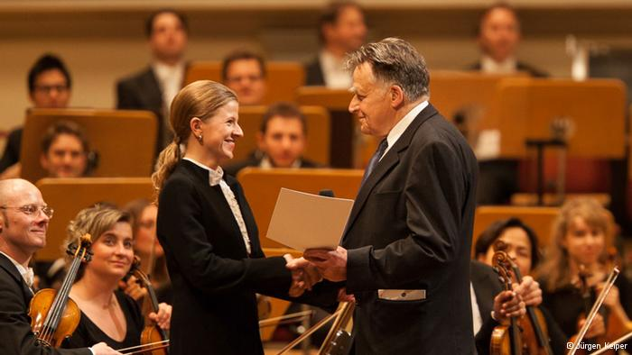 A Kristiina Poska le interesan los compositores que ahondan en problemas existenciales.