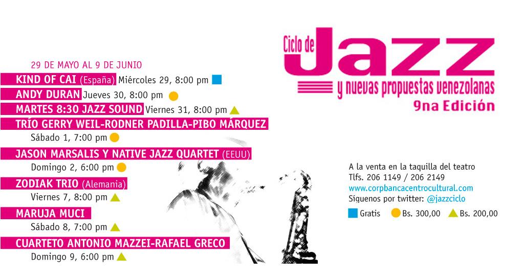 Caracas capital del jazz nacional e internacional