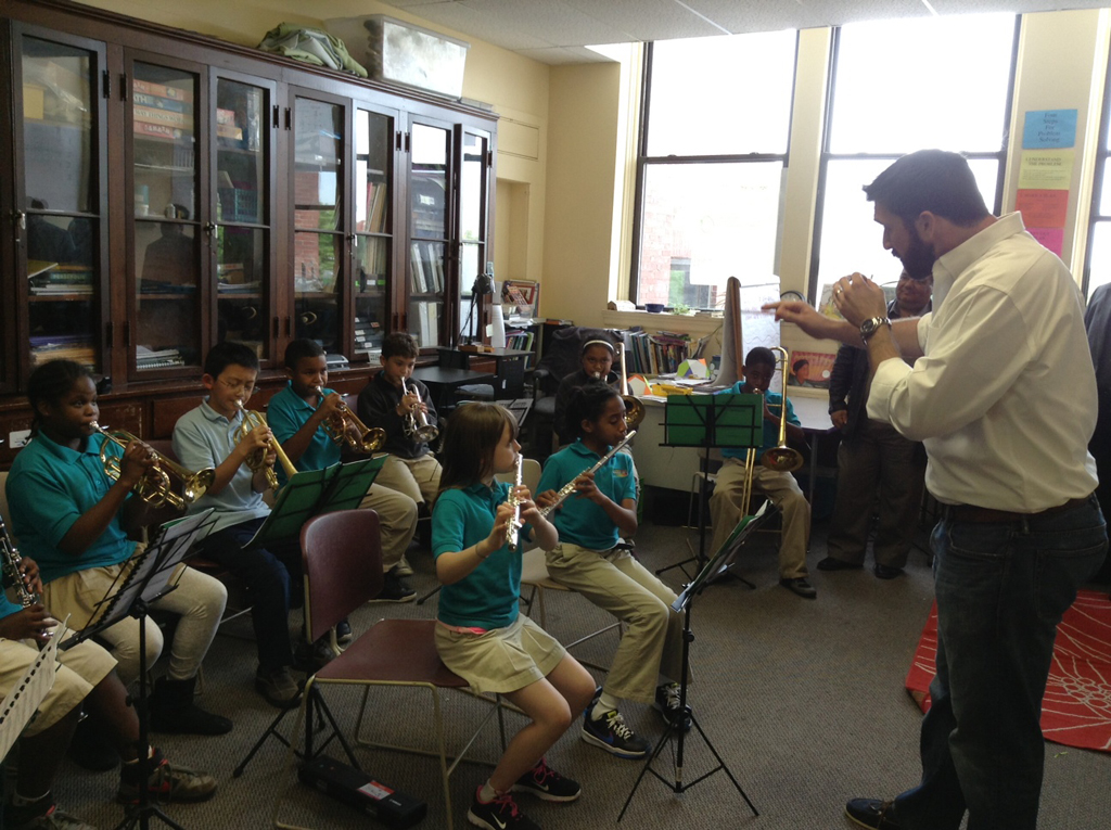 Conservatory Lab Charter School . Ensamble de Vientos