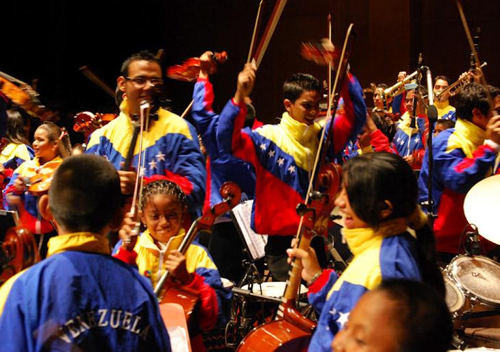 Sistema de orquestas de Venezuela incorporará a 400.000 niños y jóvenes