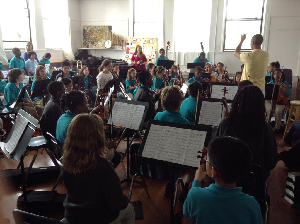 Orquesta Dudamel del Conservatory Lab Charter School