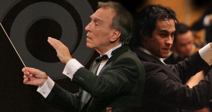 Claudio Abbado y Diego Matheuz