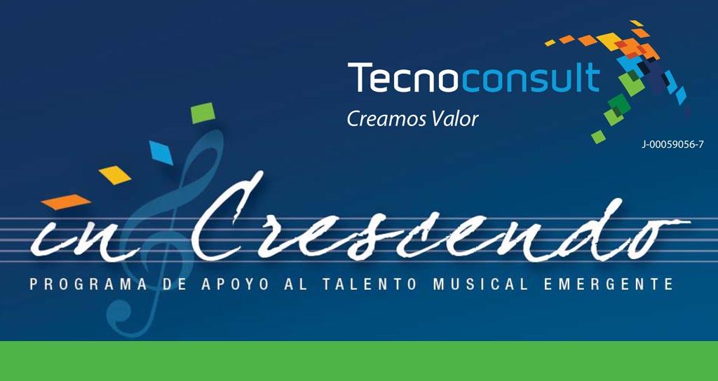 """In Crescendo"" Programa de apoyo al talento musical emergente"