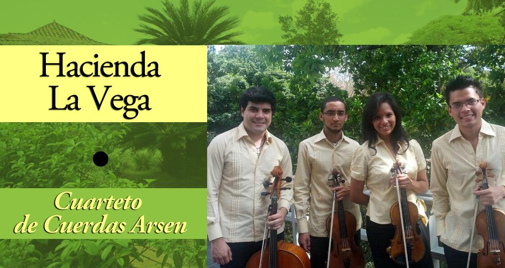 El Cuarteto de Cuerdas Arsen debuta en la Hacienda La Vega