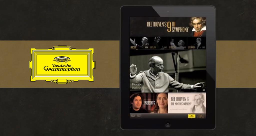 Deutsche Grammophon reinventa la Novena Sinfonía de Beethoven