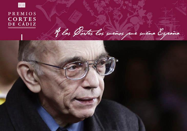 José Antonio Abreu recibe este jueves el Premio Iberoamericano de Música Cortes de Cádiz