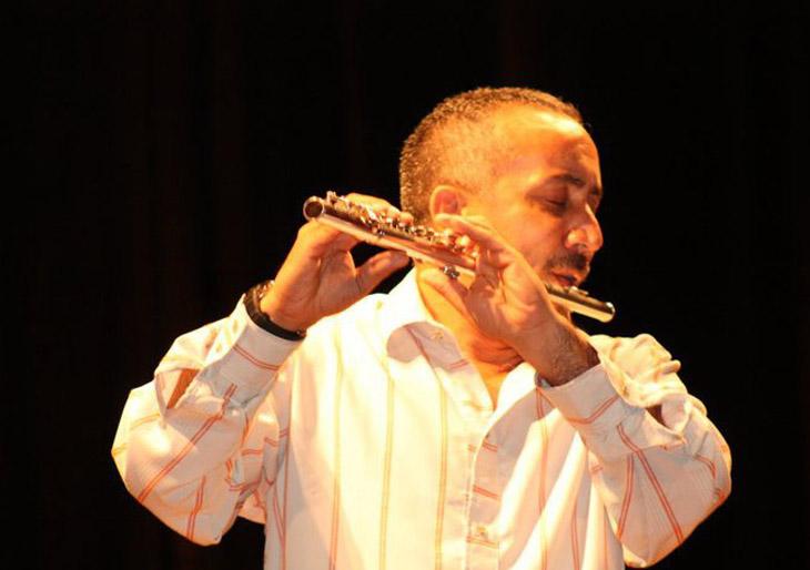 José Carmelo Calabrese junto a la Sinfónica de Carabobo